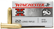 Winchester Snake Shot 22lr #12 Shot Ammo - 50 Rounds