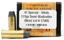 Ventura Heritage 41 Special 215gr SWC Ammo - 50 Rounds