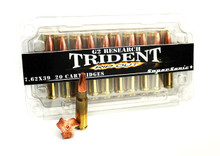G2 Research Trident Ripout 7.62x39 124gr Supersonic CLF HP Ammo - 20 Rounds