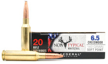 Federal Non Typical Whitetail 6.5 Creedmoor 140gr SP Ammo - 20 Rounds