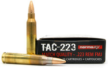 Norma USA TAC-223 223 Rem 55gr FMJ Ammo - 20 Rounds