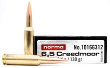 Norma Hybrid Target Match 6.5 Creedmoor 130gr HP BT Ammo - 20 Rounds