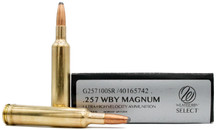 Weatherby Select 257 Weatherby Mag 100gr Spitzer Ammo - 20 Rounds