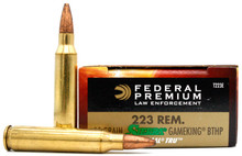 Federal Tactical 223 Rem 55gr Gameking BTHP BLEM Ammo - 20 Rounds