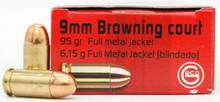 Geco 380 ACP 95gr FMJ Ammo - 1000 Rounds