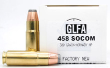 Great Lakes 458 Socom 300gr JHP Ammo - 20 Rounds