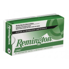 Remington UMC 9mm 115gr FMJ Ammo - 50 Rounds
