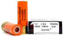 International Cartridge 12 Gauge 325gr Frangible Breaching Slug Ammo - 5 Rounds
