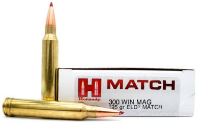 Hornady Match 300 Win Mag 195gr ELD Ammo - 20 Rounds