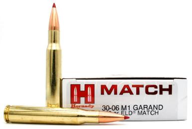 Hornady Vintage Match 30-06 Springfield 168gr (M1 Garand) ELD Ammo - 20 Rounds