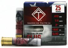 "American Tactical 410ga 2.5"" 1/4oz HP Rifled Slug Ammo - 25 Rounds"