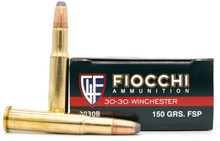 Fiocchi 30-30 Win 150gr FSP Ammo - 20 Rounds
