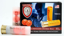 "Lightfield Home Defender 20ga 2.75"" Rubber Buck Less Lethal Ammo - 5 Rounds"