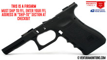 Glock 17 GEN3 Stripped Frame (Black)**FFL ITEM**