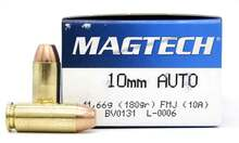 Magtech 10mm 180gr FMJ Ammo - 50 Rounds