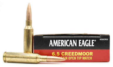 Federal American Eagle 6.5 Creedmoor 120gr OTM Ammo - 20 Rounds ...