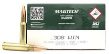 Magtech Sniper 308 Win 168gr HPBT Ammo - 50 Rounds