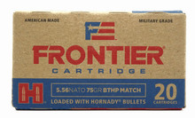 Hornady Frontier 5.56 NATO 75gr BTHP Match Ammo - 20 Rounds