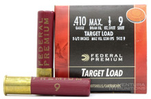 "Federal Gold Medal 410ga 2.5"" 1/2oz #9 Shot Ammo - 25 Rounds"