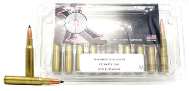 Ten Ring 30-06 Springfield 180gr TSX Ammo - 20 Rounds