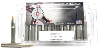 Ten Ring 30-06 Springfield 180gr Trophy Bonded Ammo - 20 Rounds