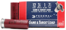 "Federal Game & Target 12ga 2.75"" 1oz #7.5 Shot Ammo - 25 Rounds"