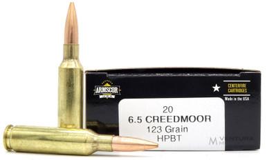 Armscor USA 6.5 Creedmoor 123gr HPBT Ammo - 20 Rounds