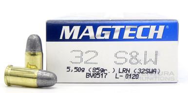 Magtech 32 S&W 85gr LRN Ammo - 50 Rounds