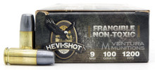 Hevi-Shot Hevi-Duty 9mm 100gr Non-Toxic Frangible Ammo - 50 Rounds