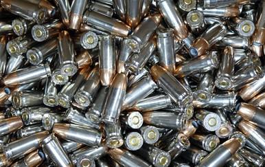 Ventura Tactical 9mm 124gr JHP Ammo - 250 Rounds