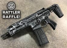 Cerakoted Sig Sauer .300 BLK Rattler Raffle Entry