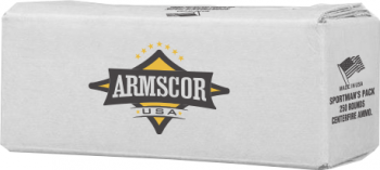 Armscor Sportsman's Pack 22TCM9R 40gr JHP Ammo - 250 Rounds