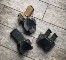 QVO Tactical Glock Range Kit (Black) RH