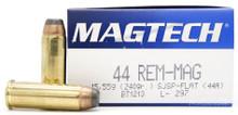 Magtech 44 Mag 240gr SJSP Ammo - 50 Rounds