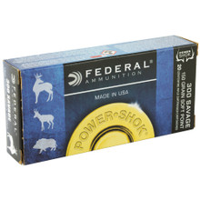 Federal Power-Shok 300 Savage 180gr JSP Ammo - 20 Rounds