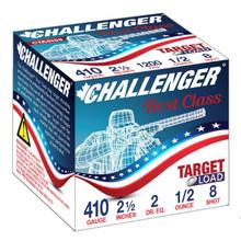"""Challenger First Class 410ga 2.50"""" 1/2oz #8 Ammo - 25 Rounds"""