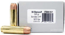 Underwood 50 Beowulf 325gr Bonded JHP Ammo - 20 Rounds