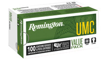 Remington UMC 357 Magnum 125gr JHP Ammo - 100 Rounds