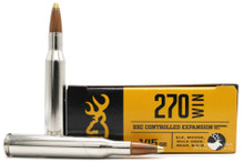 Browning BXC 270 145gr Controlled Expansion Ammo - 20 Rounds