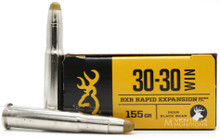 Browning BXR 30-30 Win 160gr Rapid Expansion Ammo - 20 Rounds