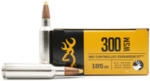 Browning BXC 300 WSM 185gr Controlled Expansion Ammo - 20 Rounds