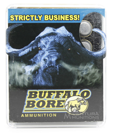 Buffalo Bore 10mm 220gr Hard Cast FN Ammo - 20 Rounds