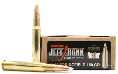 Ammo Inc American Hunter 30-06 Springfield 180gr Accubond Ammo - 20 Rounds
