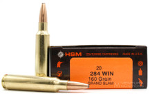 HSM 284 Winchester 160gr Grand Slam Ammo - 20 Rounds