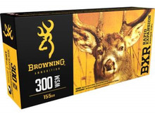 Browning BXR 300 WSM 155gr Rapid Expansion Ammo - 20 Rounds