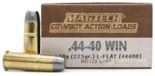 Magtech 44-40 Winchester 225gr LFN Ammo - 50 Rounds
