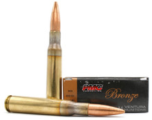 PMC Bronze 50 BMG 660gr FMJ-BT Ammo - 10 Rounds