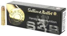 Sellier & Bellot 460 S&W Mag 255gr JHP Ammo - 20 Rounds