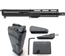 "TorkMag Complete AR Upper Magdapt 17 Bundle - Black | 9mm | 8"" Barrel 
