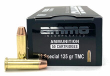 Ammo INC 38 Special 125gr TMC Ammo - 50 Rounds